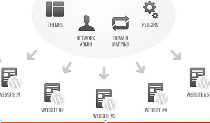 Chức năng đa website phục vụ các website của chuyên khoa trong bệnh viện